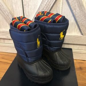 ❄️Polo Ralph Lauren Snow Boots toddler size 4